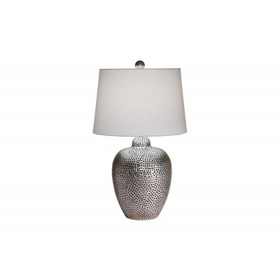 Mason Nickel Table Lamp