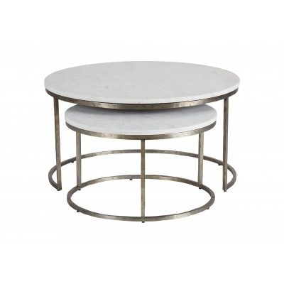 Bayliss Round Nesting Coffee Table